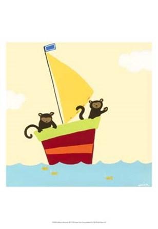 Sailboat Adventure III by June Erica Vess art print