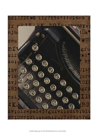 Vintage Type I by Vision Studio art print