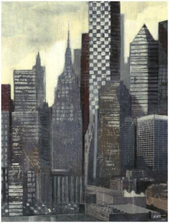 Urban Landscape I by Norman Wyatt Jr. art print