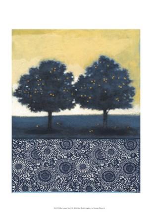 Blue Lemon Tree II by Norman Wyatt Jr. art print