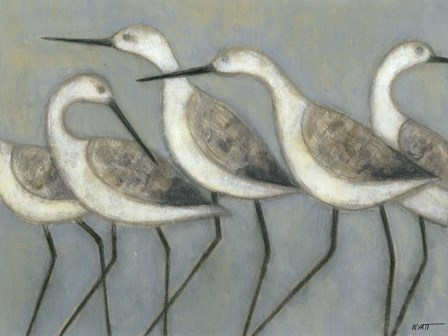 Shore Birds I by Norman Wyatt Jr. art print