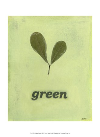 Going Green III by Norman Wyatt Jr. art print