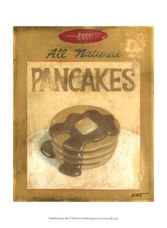 Pancake Mix by Norman Wyatt Jr. art print