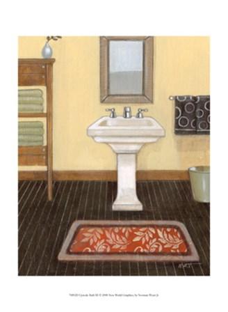 Upscale Bath III by Norman Wyatt Jr. art print