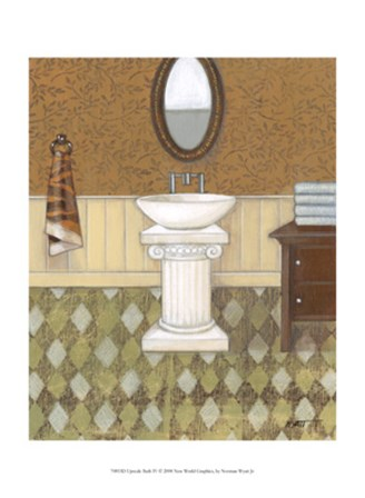 Upscale Bath IV by Norman Wyatt Jr. art print