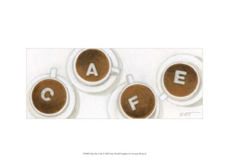 Mus Hav Cafe by Norman Wyatt Jr. art print