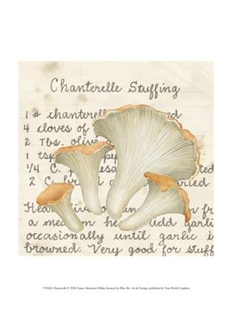 Chanterelle by Nancy Shumaker art print