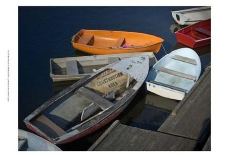 Row Boats II by Rachel Perry art print