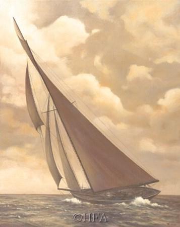 Catch the Wind by Vivien Rhyan art print