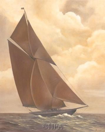 Smooth Sailing by Vivien Rhyan art print