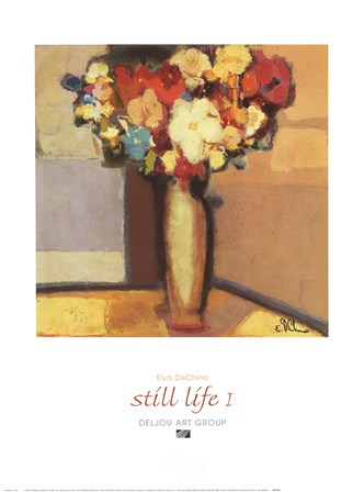 Still Life I by Elya De Chino art print