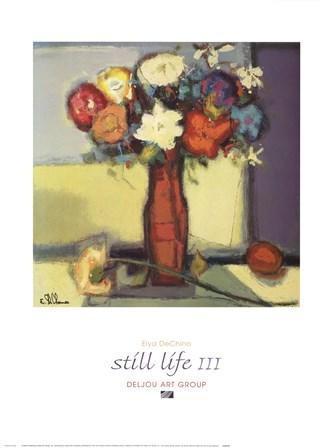 Still Life III by Elya De Chino art print
