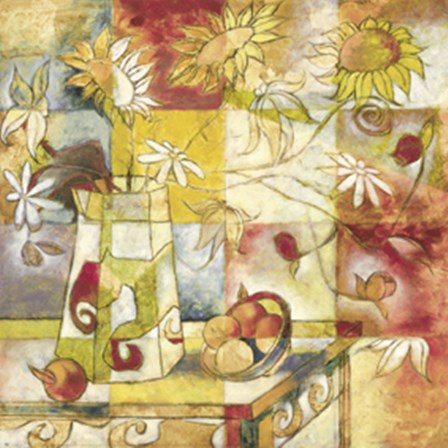 Floral Windows by Trey art print