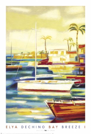 Bay Breeze I by Elya De Chino art print