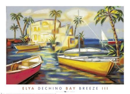 Bay Breeze III by Elya De Chino art print