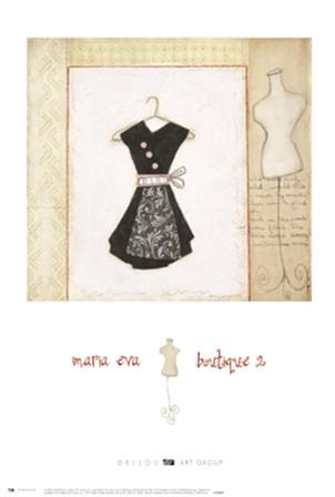 Boutique 2 by Maria Eva art print