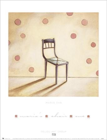 Maria's Chair 1 by Maria Eva art print