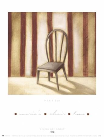 Maria's Chair 2 by Maria Eva art print