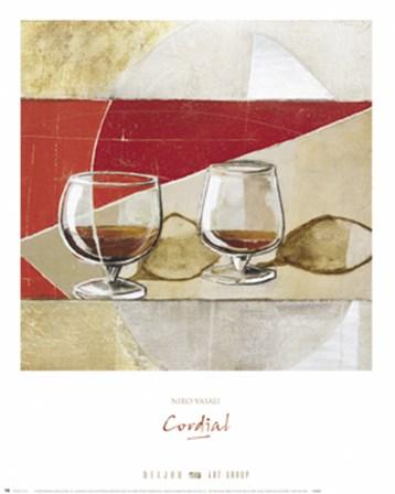Cordial by Niro Vasali art print