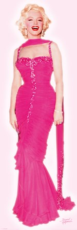 Marilyn Monroe - Pink Dress art print