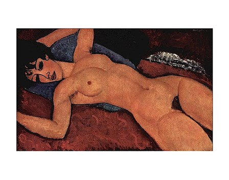Nude by Amedeo Modigliani art print