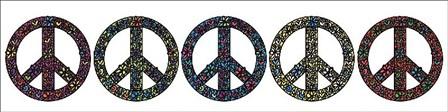 Peace Now! by Erin Clark art print
