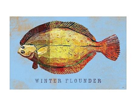 Winter Flounder by John W. Golden art print