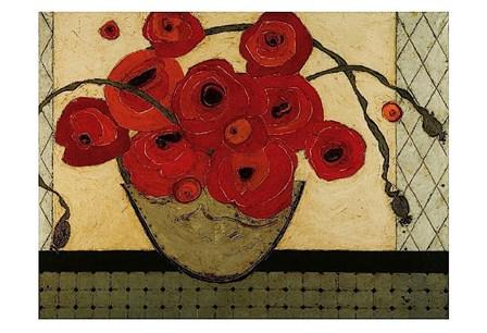 Poppies for the Host by Karen Tusinski art print