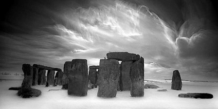 Stonehenge by Marcin Stawiaz art print
