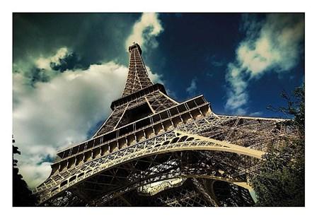 The Eiffel Tower (horizontal) by Mark Verlijdonk art print
