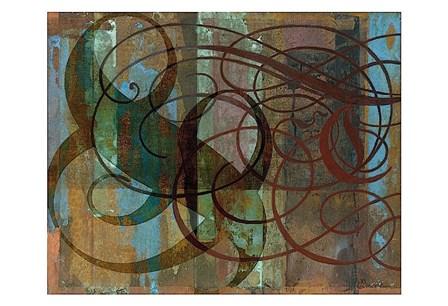 Tangle by Mick Gronek art print