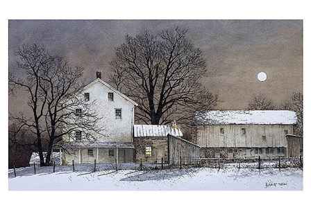 Full Moon by Ray Hendershot art print