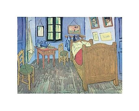 Bedroom at Arles by Vincent Van Gogh art print