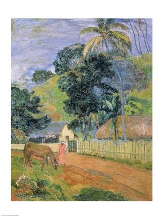 Gauguin Tahitian Print