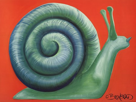 Escargot by David Bromstad art print