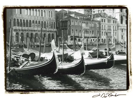 Waterways of Venice X by Laura Denardo art print