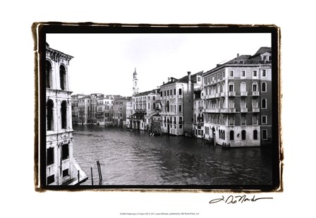 Waterways of Venic XII by Laura Denardo art print