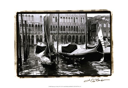 Waterways of Venice XIV by Laura Denardo art print