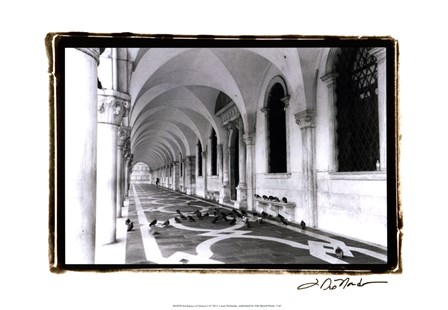 Archways of Venice I by Laura Denardo art print
