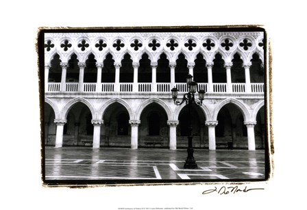 Archways of Venice II by Laura Denardo art print