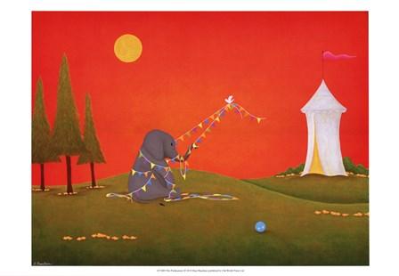 The Predicament by Shari Beaubien art print