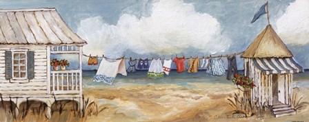 Fresh Laundry I by Charlene Winter Olson art print
