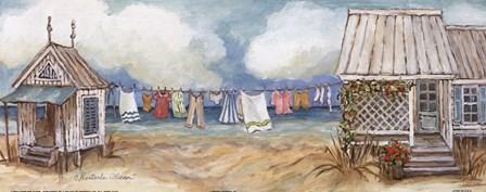 Fresh Laundry II by Charlene Winter Olson art print