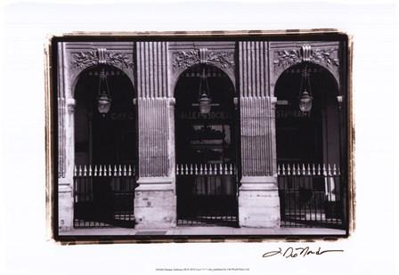 Parisian Archways III by Laura Denardo art print