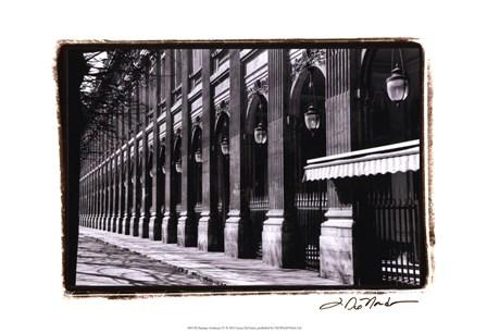 Parisian Archways IV by Laura Denardo art print
