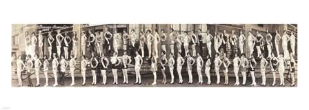 Inner City Beauties, Atlantic City 1926 art print