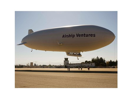 The Airship Ventures' Zeppelin art print