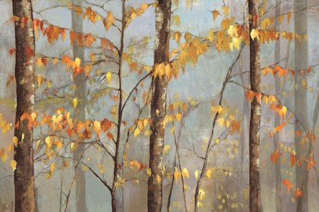 Delicate Branches by Allison Pearce art print