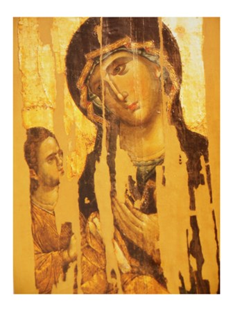 Mother of the God Hodegetria art print
