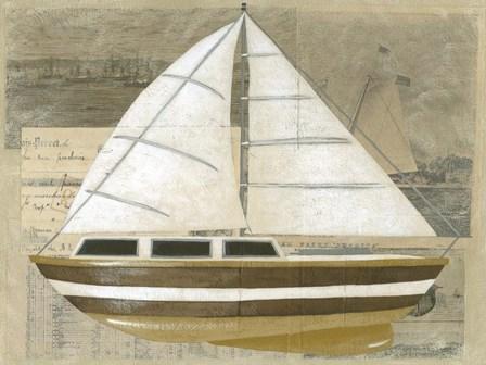 Tour by Boat I by Chariklia Zarris art print